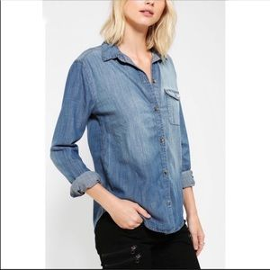 BDG Urban Outfitters Boyfriend Fit Button Up